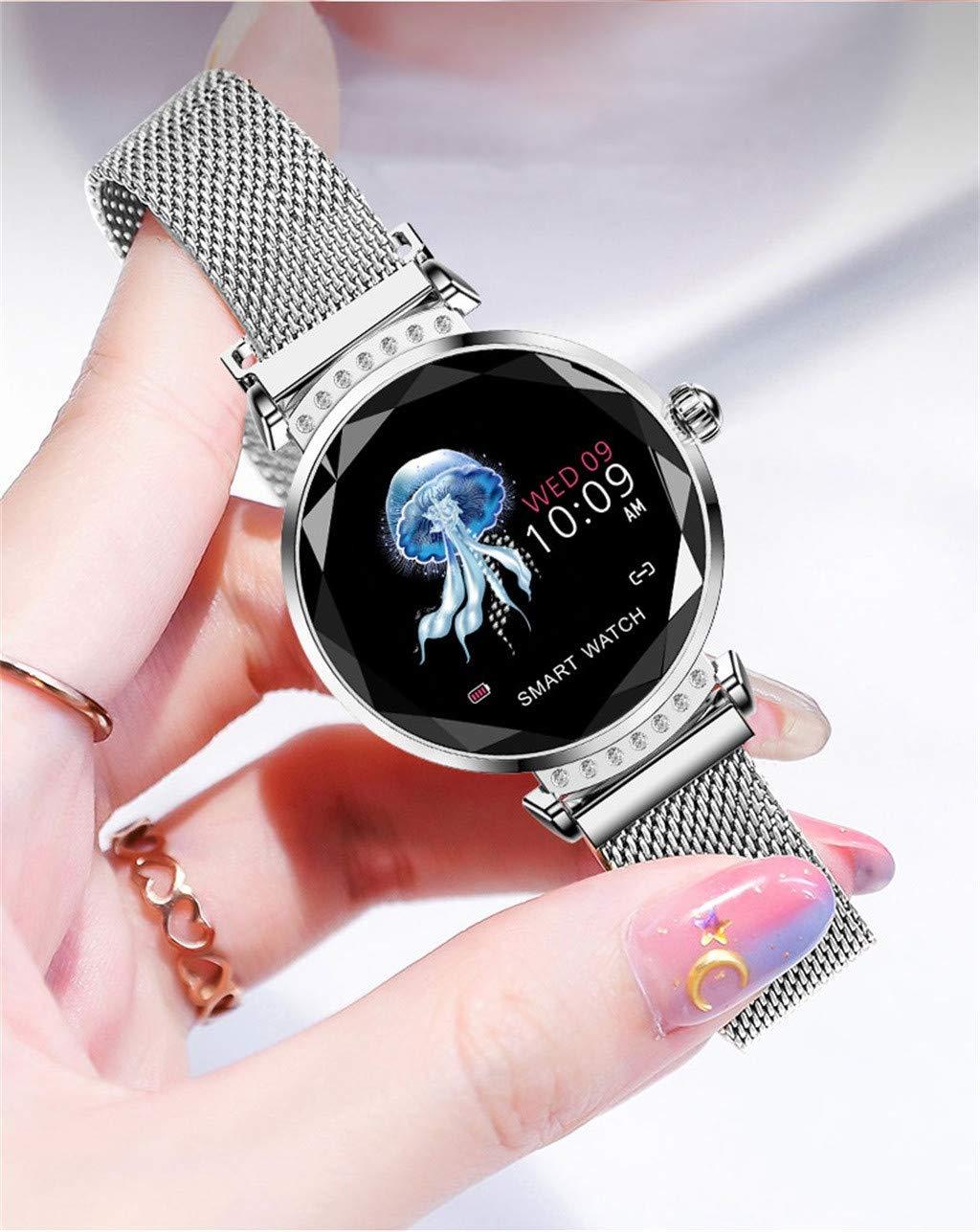 Amazon.com : GXOK H2 Smart Watch for Women, Valentines Day ...