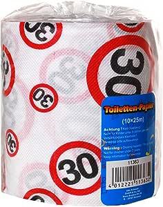 Papel higiénico para cumpleaños/ aniversario - 30: Amazon.es: Hogar