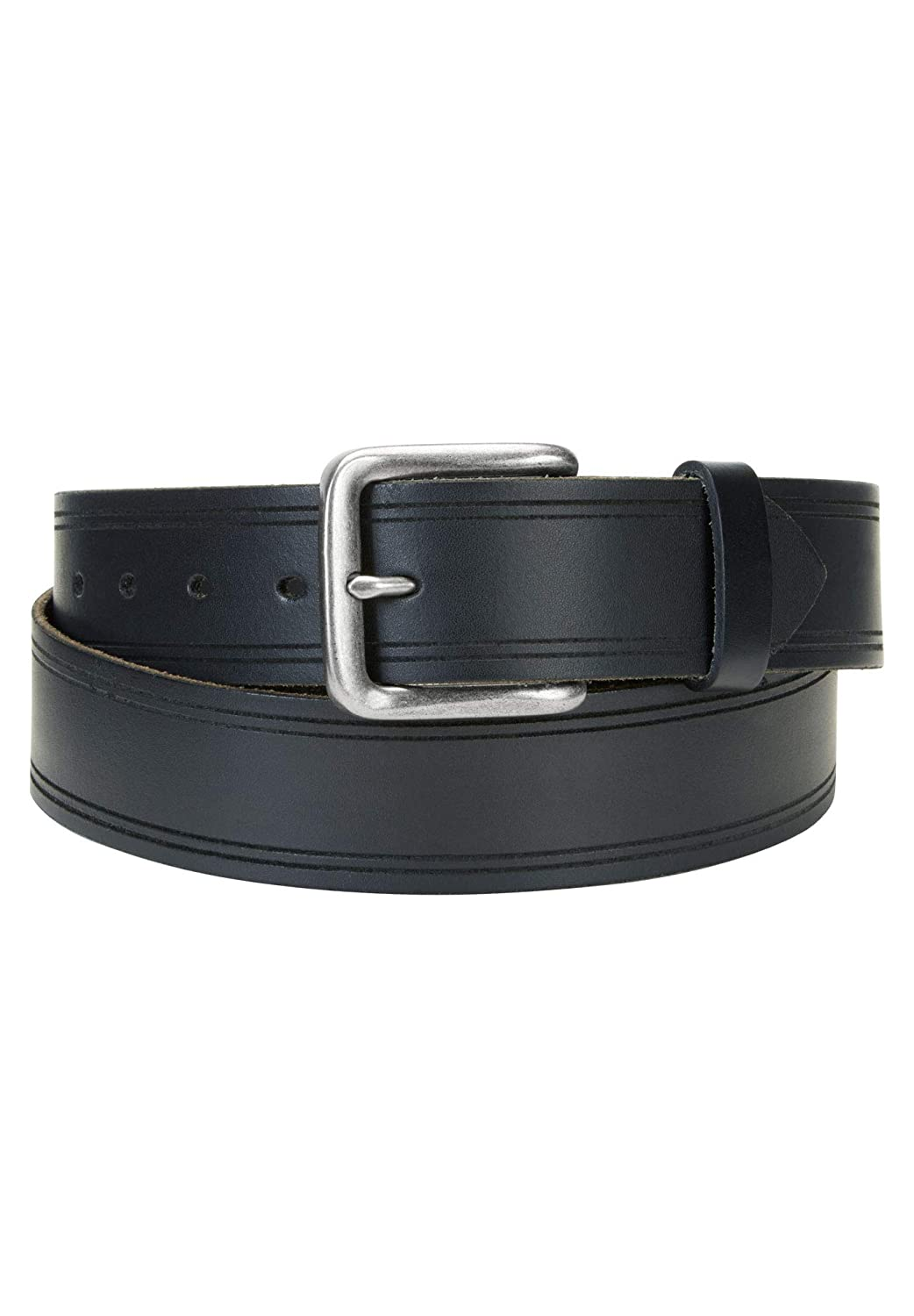 Wrangler Mens Big /& Tall Edge Embossed Belt
