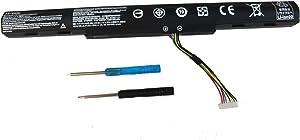 SKY BOY AS16A5K AS16A7K AS16A8K Battery Compatible Acer Aspire E15 E5-575-33BM E5-575G-57D4 E5-575G-53VG E5-576-392H E5-576G-5762 E5-475G E5-575 E5-575G E5-575T E5-774 E5-774G E5-575G 4ICR19/66 Laptop