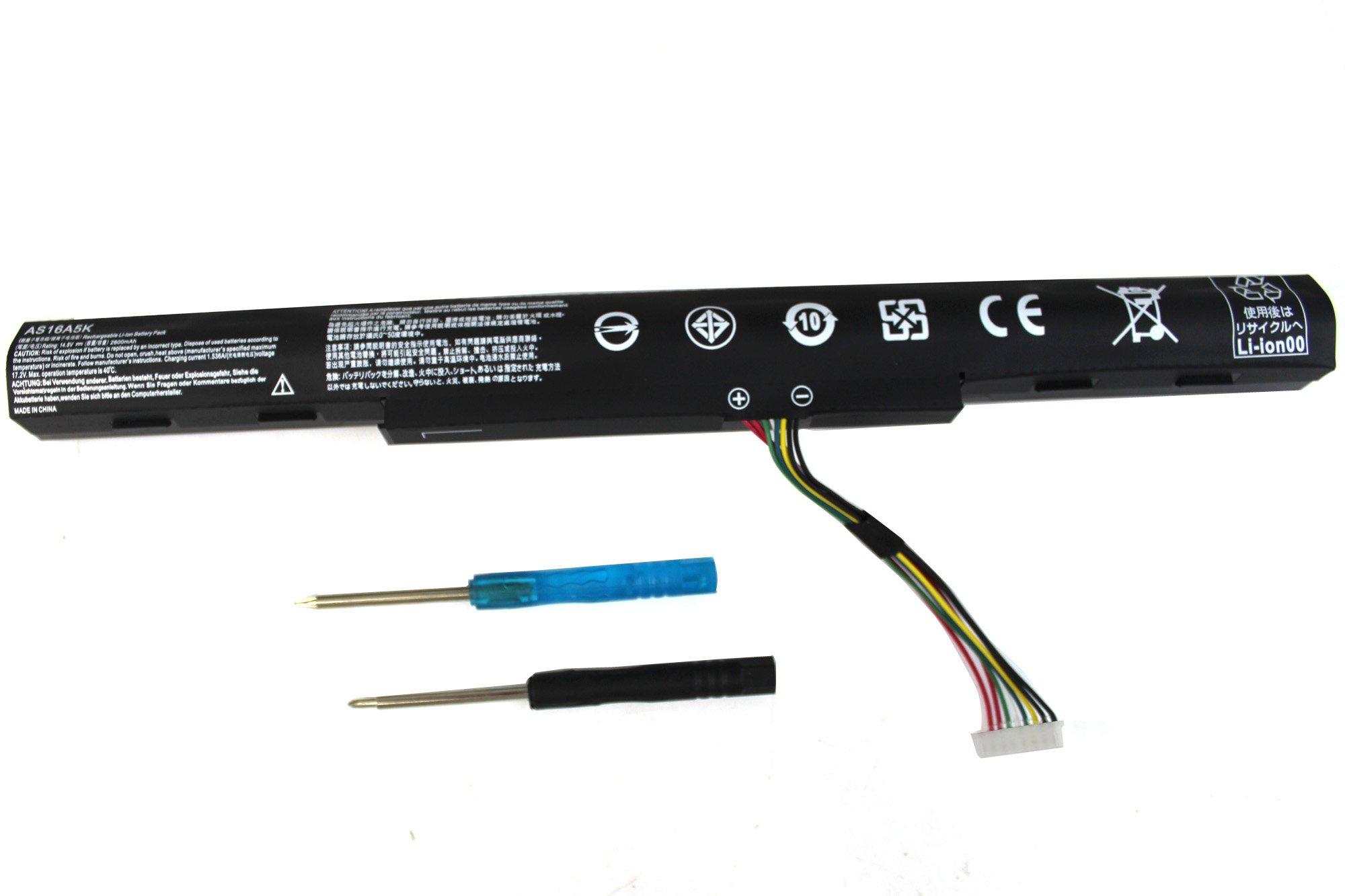 Bateria As16a5k As16a7k As16a8k Para Acer Aspire E15 E5-575-33bm E5-575g-57d4 E5-575g-53vg E5-576-392h E5-576g-5762 E5-4