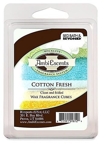 Cotton Fresh Fragrance Cubes - BedBathandBeyond.com