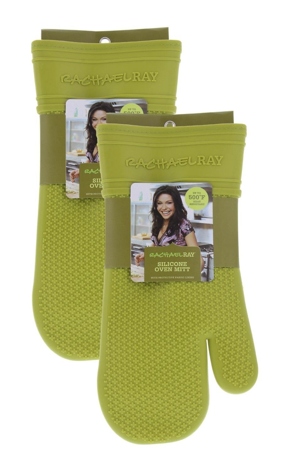 Rachael Ray Silicone Oven Mitt- Green AM6017