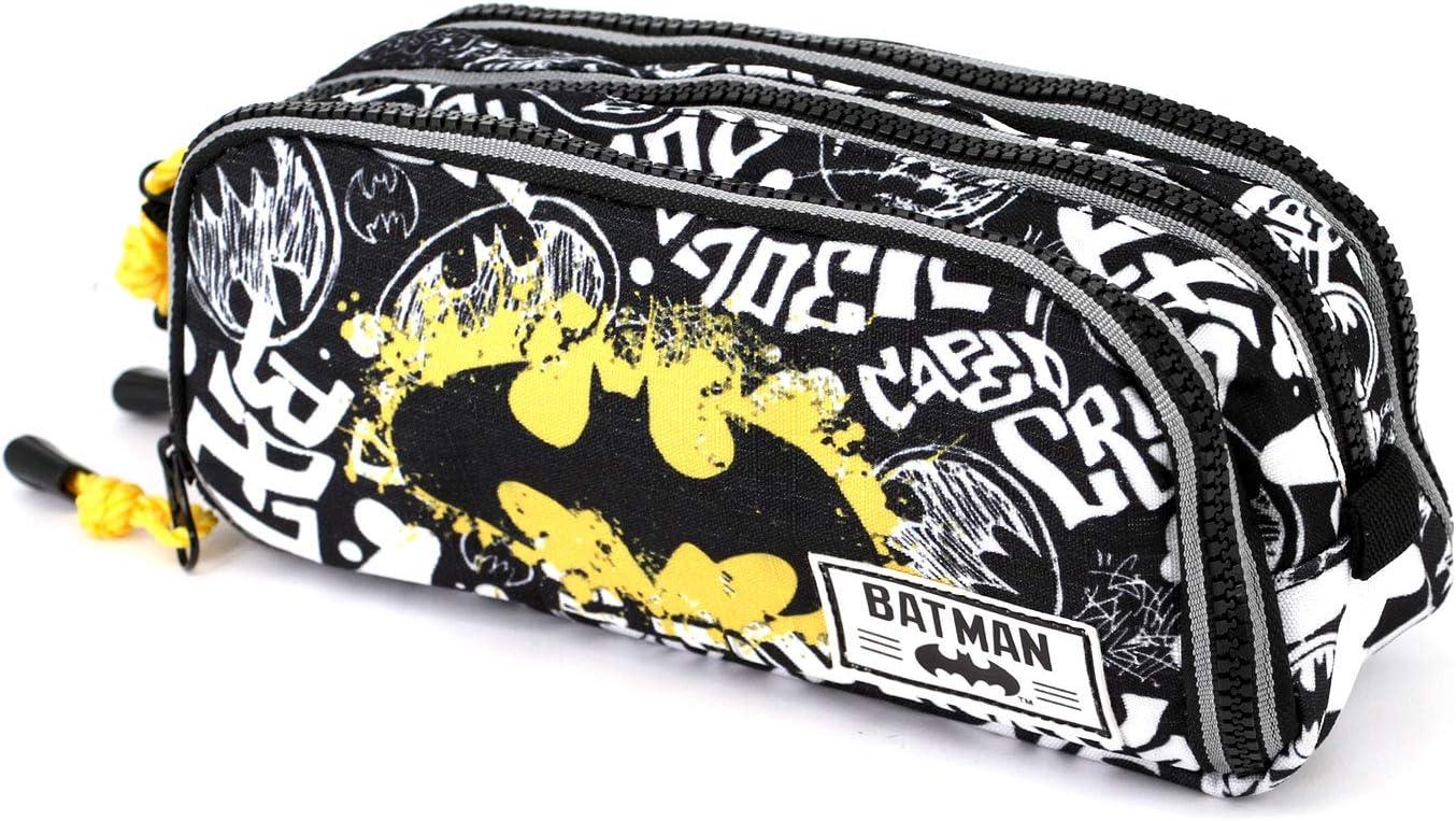 KARACTERMANIA Batman Tagsignal-Note Federm/äppchen Astuccio Grigio