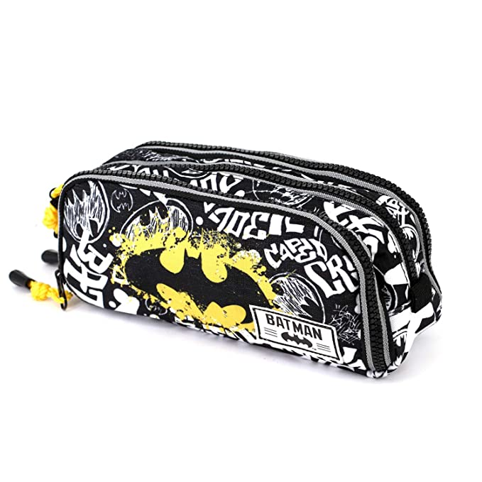 Amazon.com : DC Comics Batman Tagsignal pencil case : Office ...