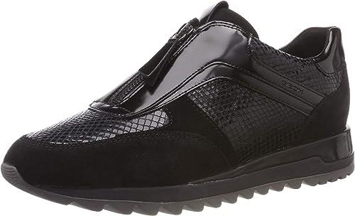 diseño atemporal servicio duradero bastante baratas Geox Women's D Tabelya a Low-Top Sneakers: Amazon.co.uk: Shoes & Bags