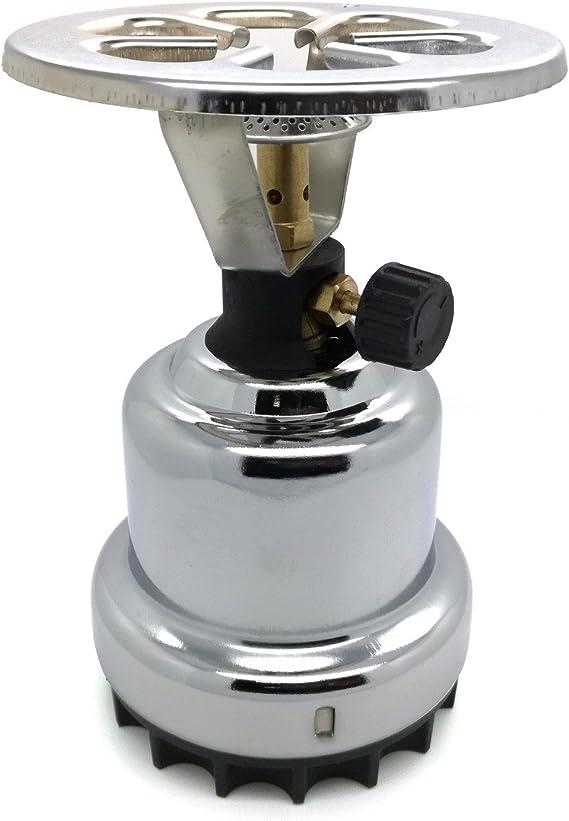 Hornillo de gas (cromo) Grabadora de gas regulable para ...