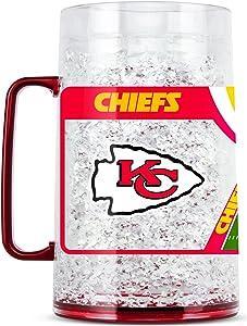 NFL Kansas City Chiefs 38oz Crystal Freezer Monster Mug