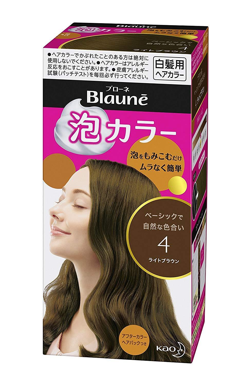 【花王】ブローネ泡カラー 4 ライトブラウン 108ml ×20個セット B00URAJDVK