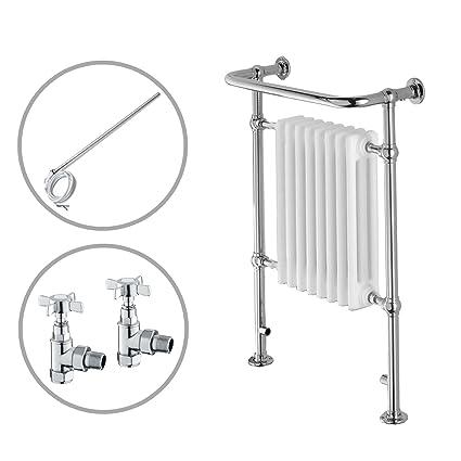 ENKI radiador para calefacción central toallero doble combustible 963 x 673 mm