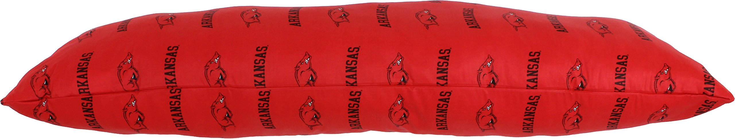 College Covers Arkansas Razorbacks Printed Body Pillow, 20'' x 60'' by College Covers (Image #4)
