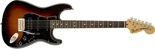 Amazon.com: Fender American Special Stratocaster HSS, Rosewood ...