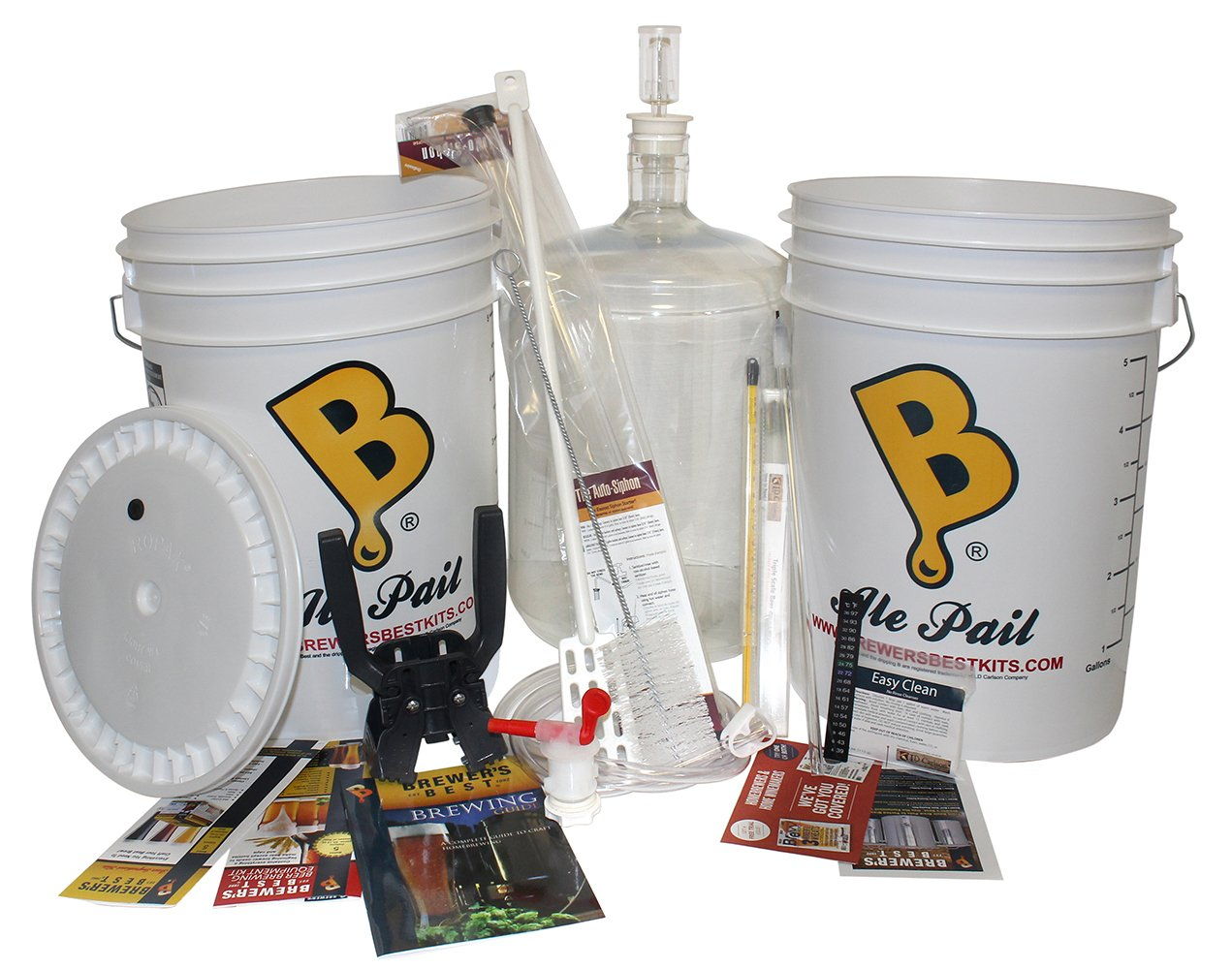Brewer's Best Deluxe Beer Brewing Equipment Kit with Better Bottle Carboy by Brewer's Best (Image #1)