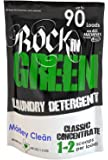 Rockin' Green Classic Rock Laundry Detergent - Motley Clean - 45 oz