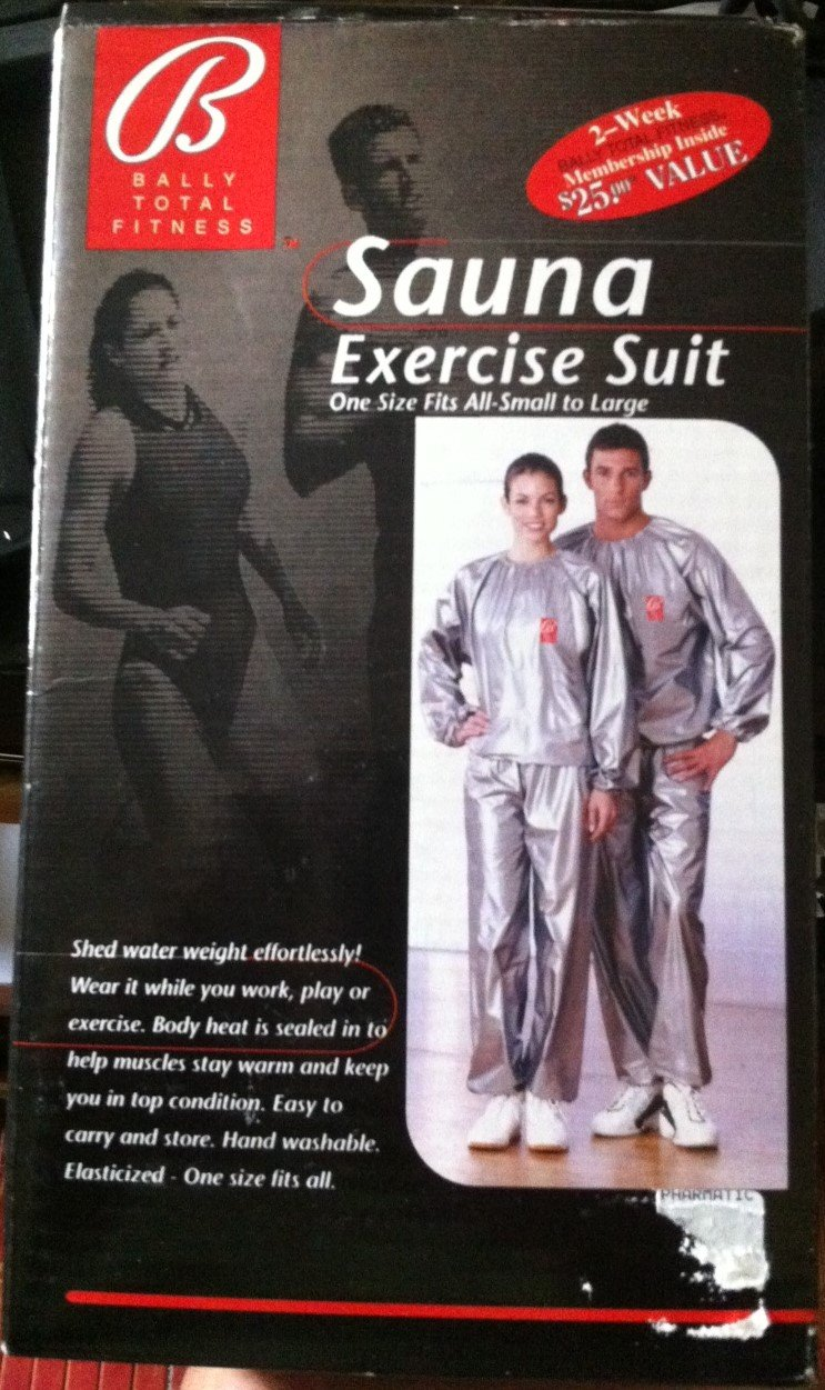 Bally Sauna Exercise Suit One size