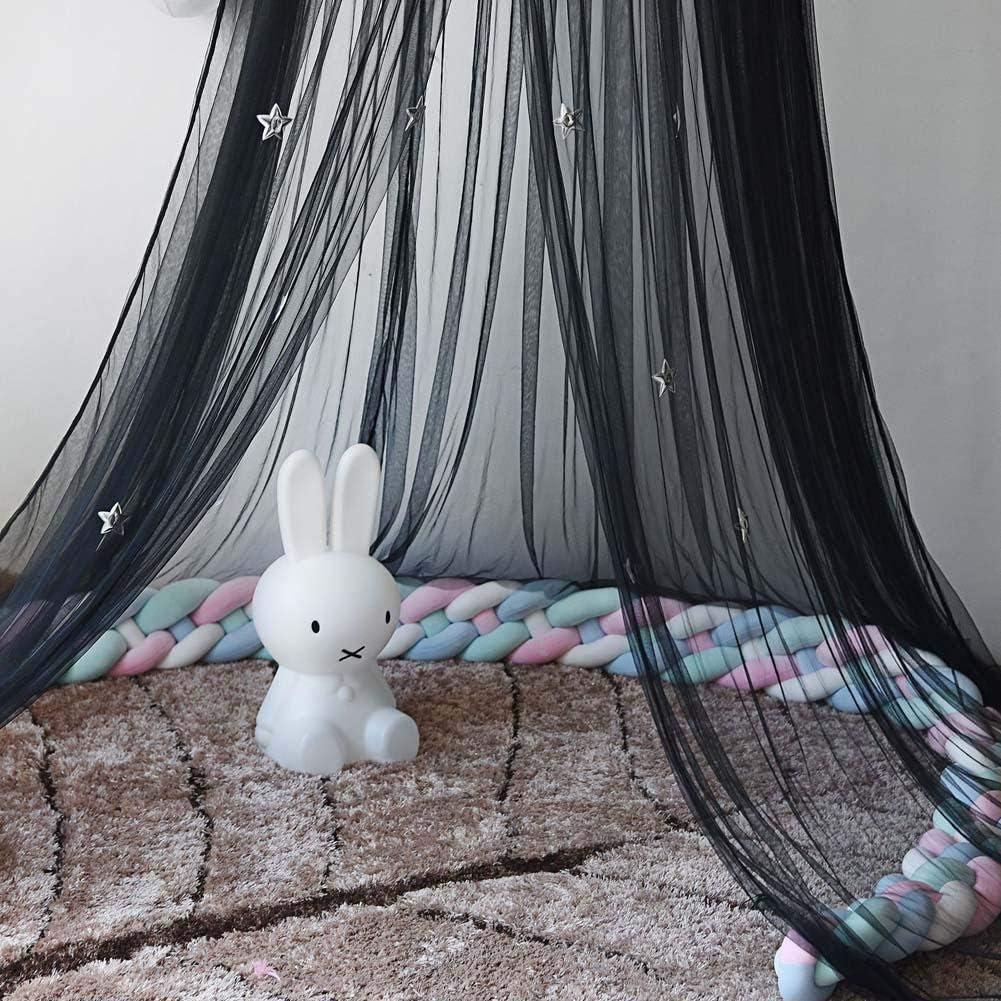 Moustiquaire pour lit Enfants B/éb/é Lovable S-tubit Ciel de lit Enfant D/écoration Chambre Enfant en Rond de D/ôme Fille Gar/çon Maison Jeux Tente