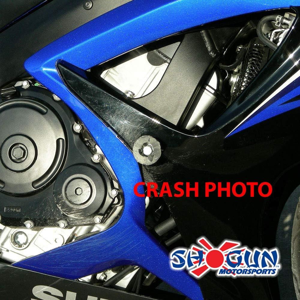 750-5469 MADE IN THE USA Shogun Suzuki GSXR600 GSXR 600 GSXR750 GSXR 750 2011 2012 2013 2014 2015 2016 2017 2018 2019 Black Frame Sliders