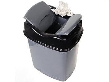 Alsero bureau ou de cuisine poubelle avec couvercle à double clic 8