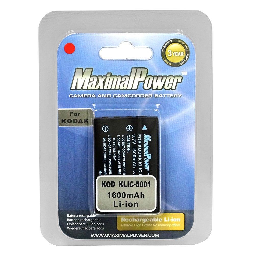 5000 para Kodak EasyShare z730 z7590 z760 cámara accu Power batería kodak KLIC