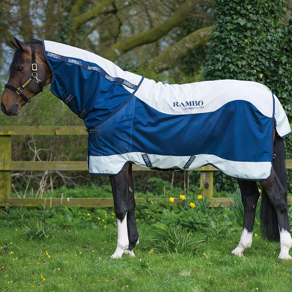 RMBO Summer Series Turnout Rug 600D Breathable Waterproof Equestrian Horse