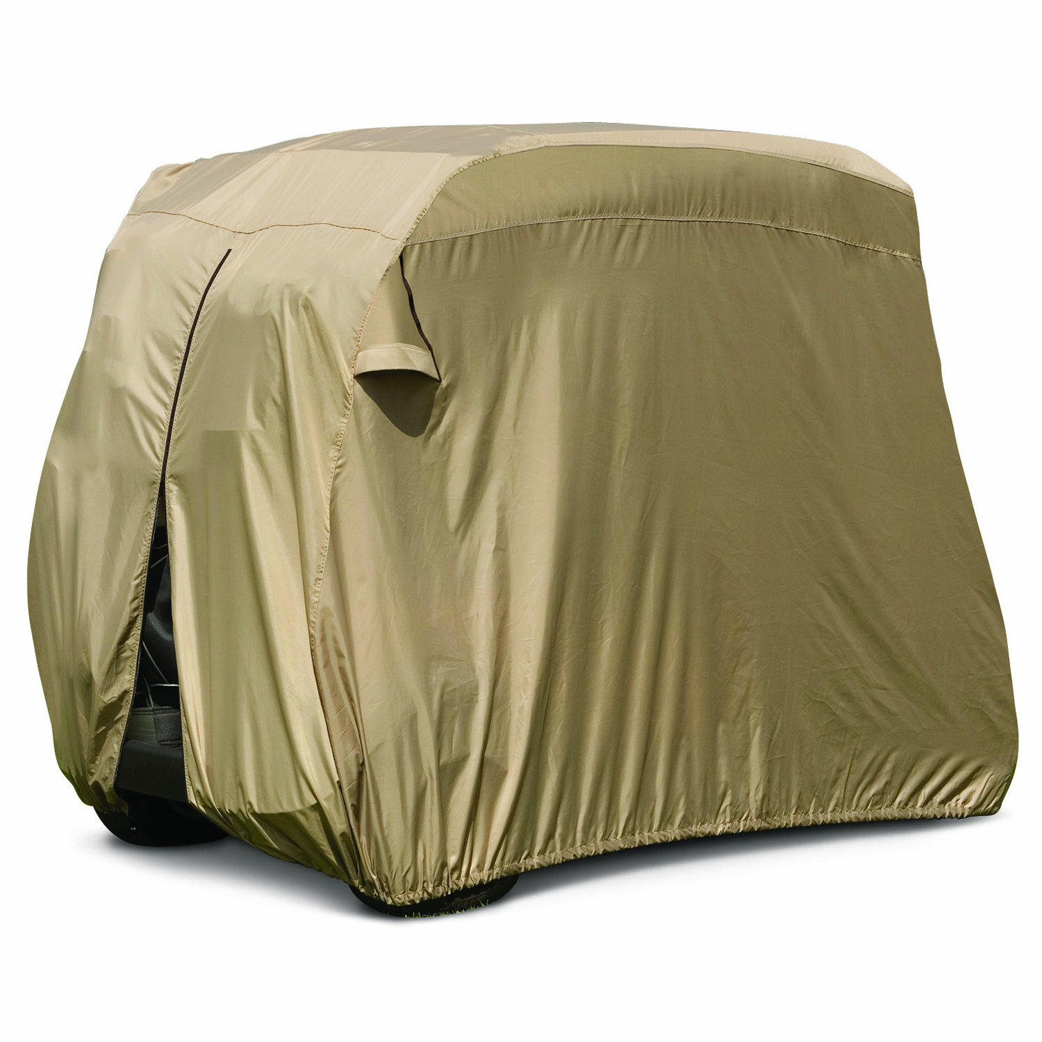 Club Car Golf Cart Cover Tan Accessories 48v Carryall Battery Wiring Diagram Sports Outdoors