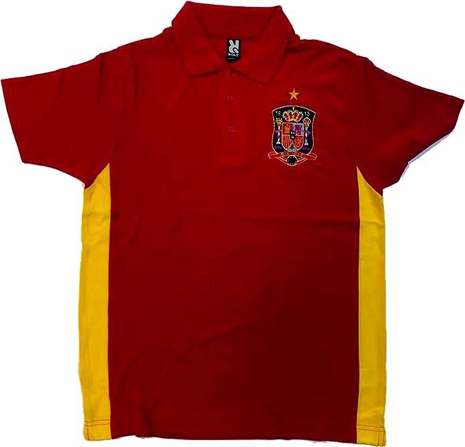 DrMugCollection Polo España - Spain (L): Amazon.es: Ropa y accesorios