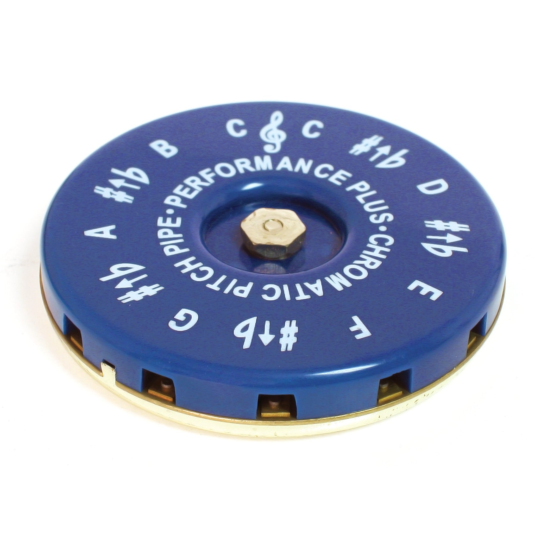 Performance Plus CP-C Vocal Chromatic Pitch Pipe Key of C to C with Carrying Bag by Performance Plus