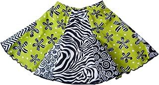 product image for Cheeky Banana Sweet Little Girls Bohemian Panel Flared Skirt Pink