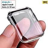 Taslar Apple Watch Series 2/3 38MM Full Cover Case (Transparent)