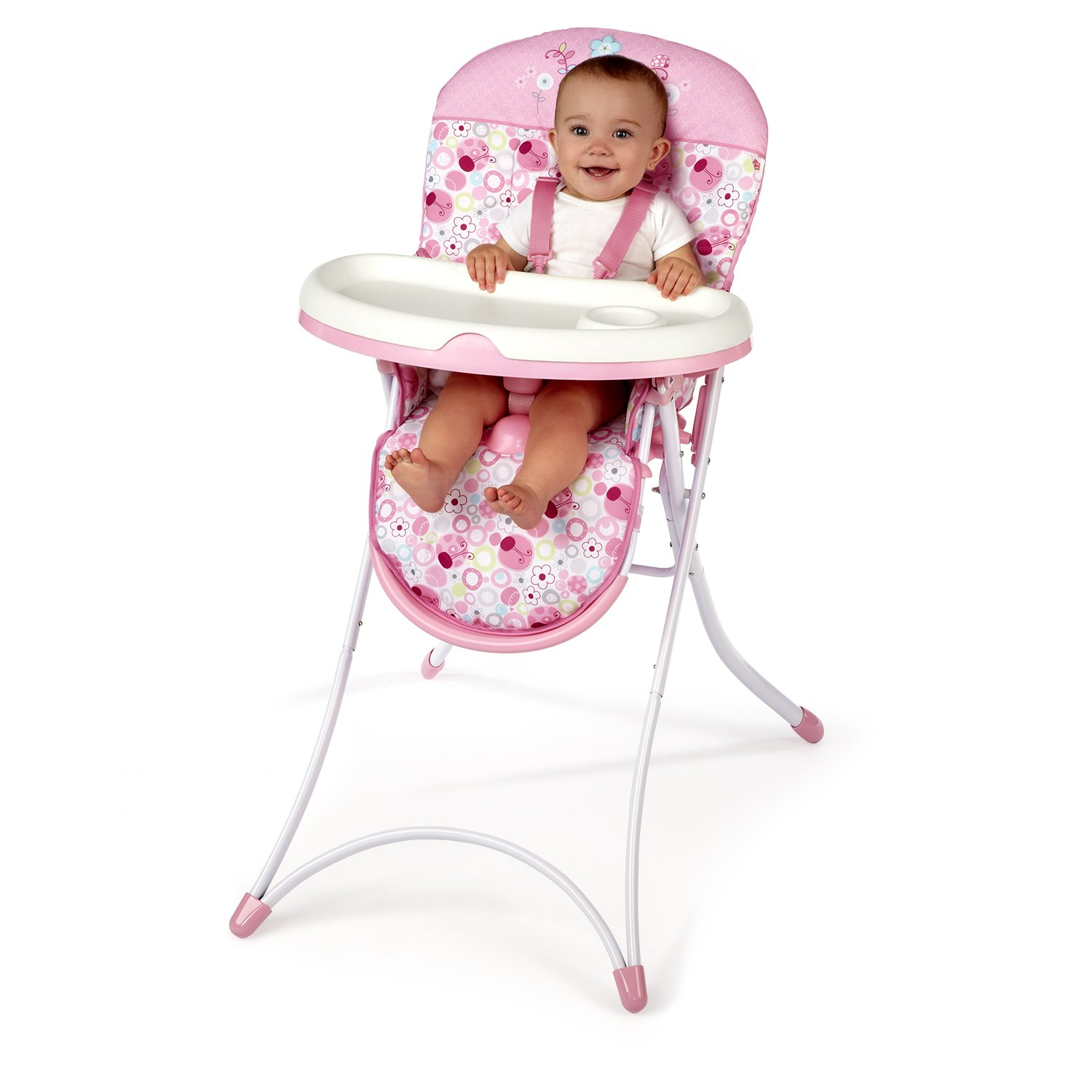 Amazon Bright Starts High Chair Sweet Spots and Lady Bugs