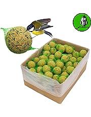 """Gnocchi con rete per cince della marca """"Vogelfood"""", confezione da 100x 90g. = 9kg, mangime per uccelli selvatici, ideale per tutto l'anno, ricco di grassi"""