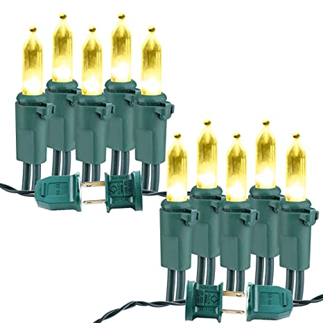 Amazon.com : VegaHome 100-Count Christmas Light Set, 33ft 100 LED ...