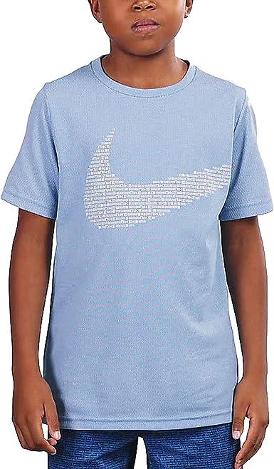 Nike Minilogo J T-Shirt Celeste para niño CJ7734-480 azul celeste XS: Amazon.es: Ropa y accesorios