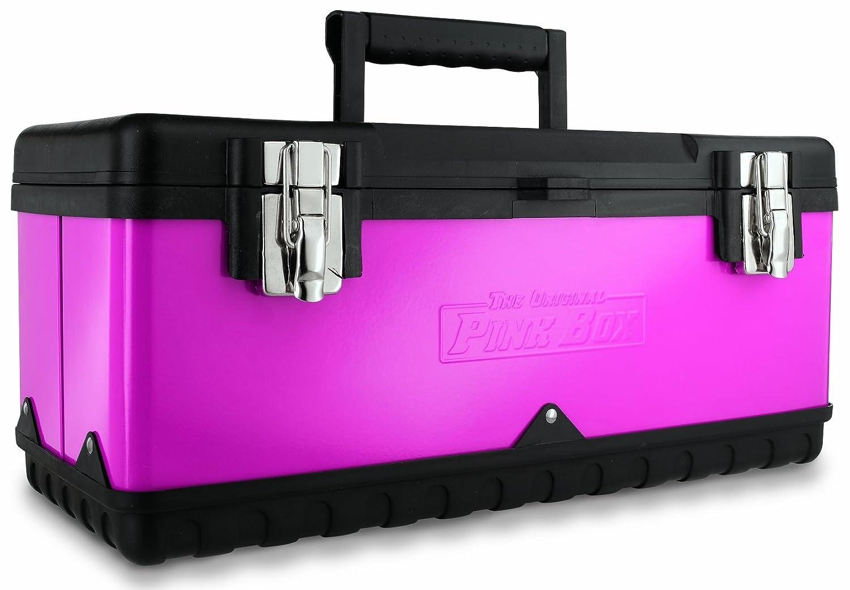The Original Pink Box PB20MTB 20 Inch Steel Tool Box, Pink   Makeup  Organizer   Amazon.com