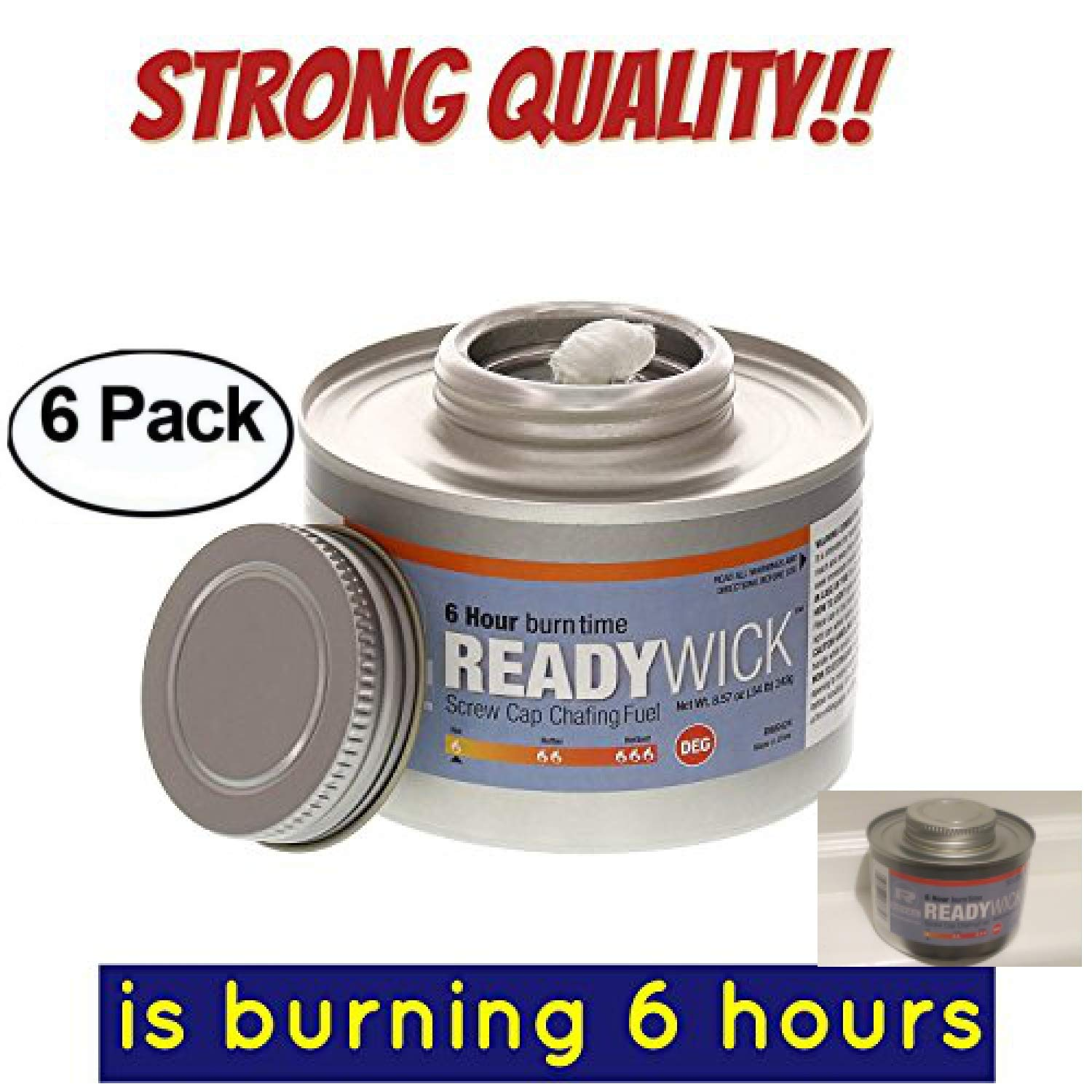 chafing fuel 6 hour,Chafing Gel Dish Fuel 6 Cans, Entertainment Cooking Fuel gel fuel cans, 6 hours cooking fuel cans, cooking fuel gel (6, 6 Hour)