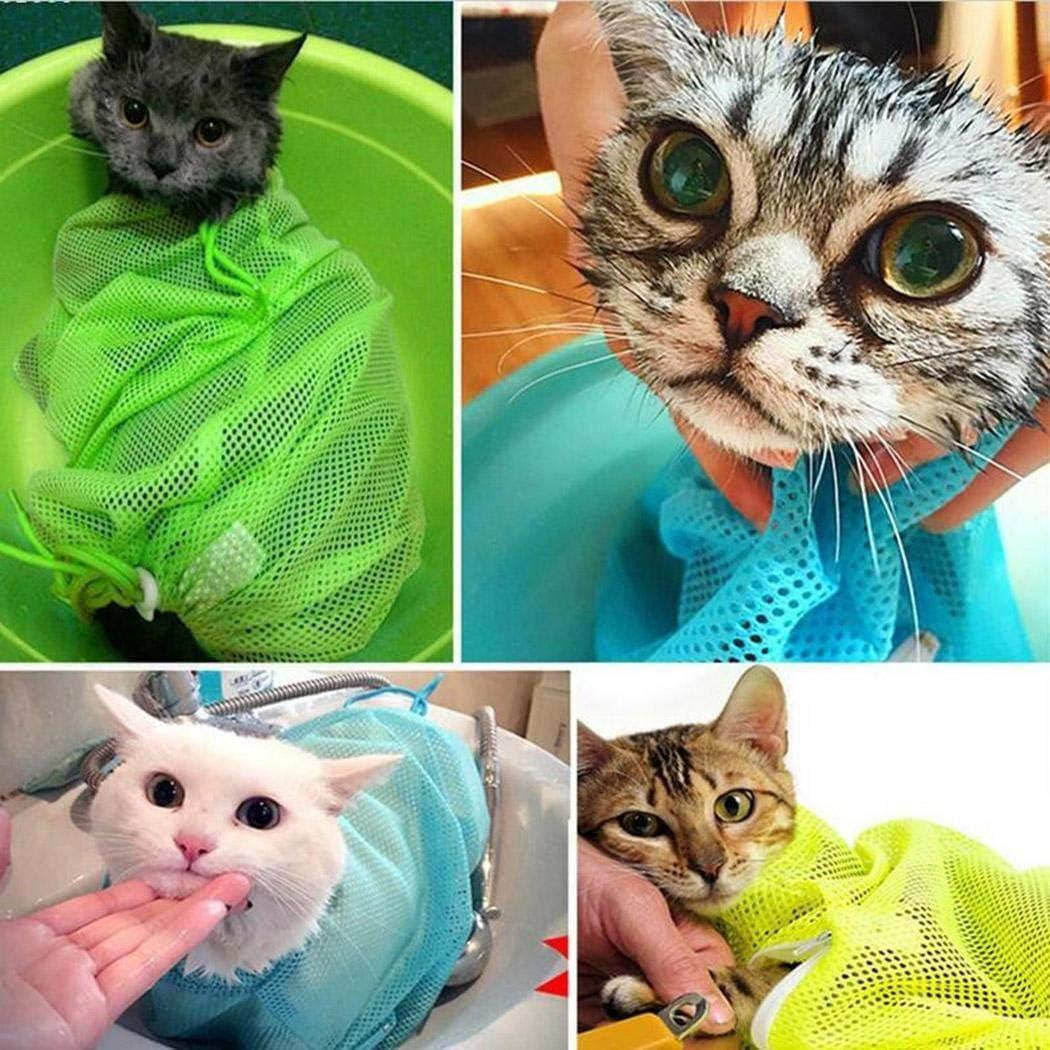 OYTRO Durable Breathable Drawstring Cat Grooming Bag Anti-Grab Bag 1 Pack