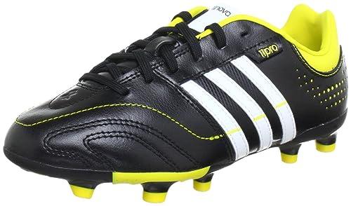 adidas Q23832, Scarpe da calcio Bambino, Nero (Nero (BLACK 1 / RUNNING