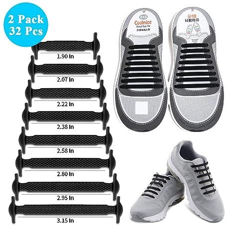 Cordones de zapatos sin corbata: Amazon.es: Salud y cuidado personal