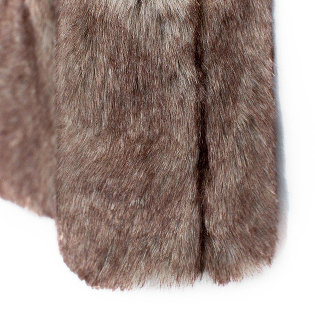 FUNOC Kids Baby Girls Faux Fur WaistCoat Fashion Short Vest Jacket Coat by FUNOC (Image #1)