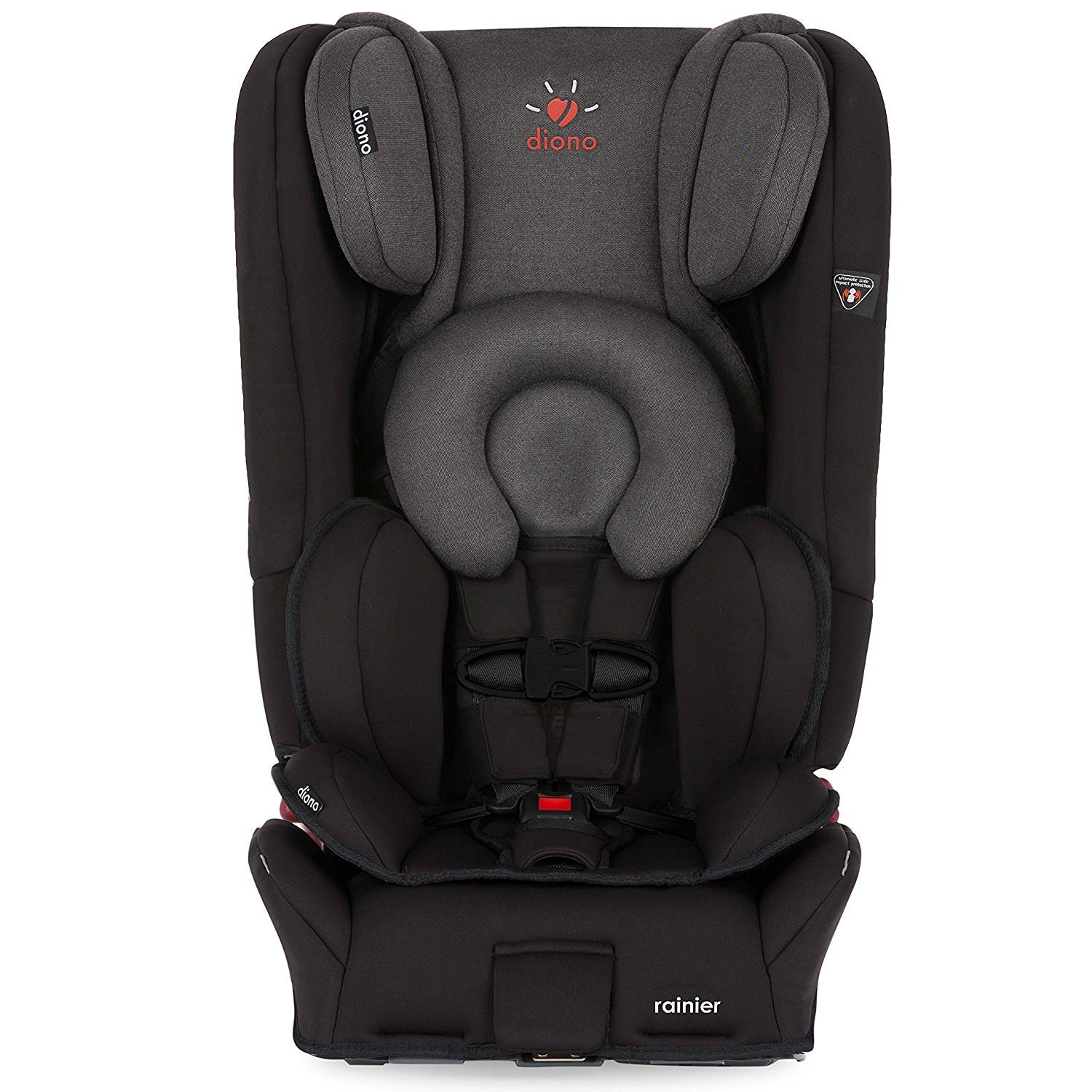 Diono Rainier All In One Convertible Car Seat Black Mist Amazonca Baby