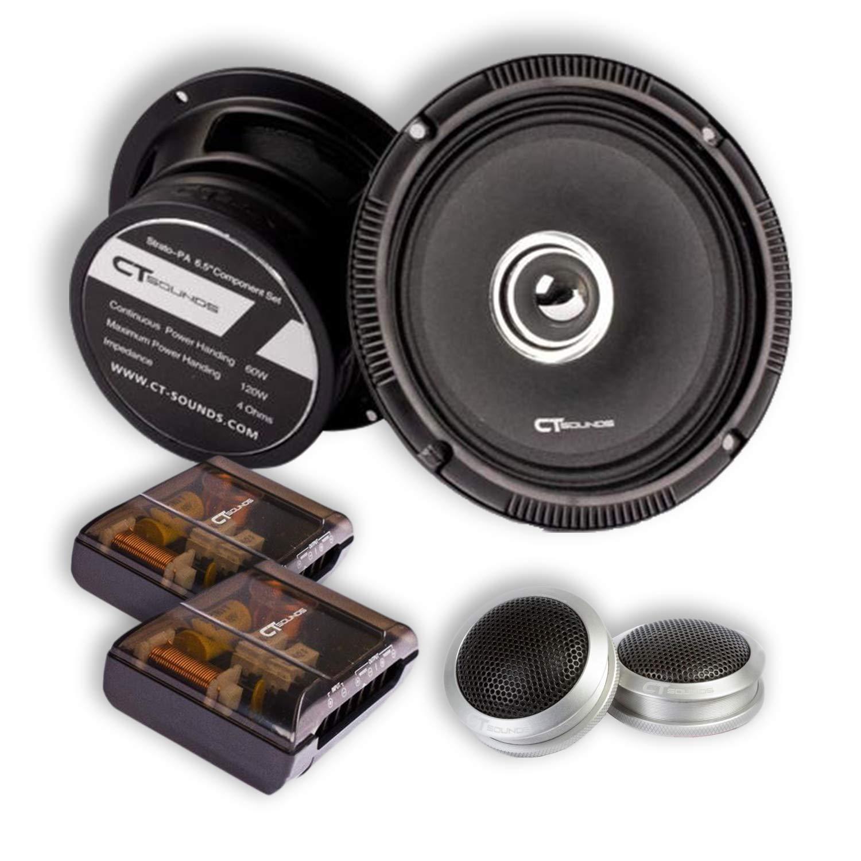 CT Sounds Strato Pro Audio 6.5 Inch Component Speaker Set