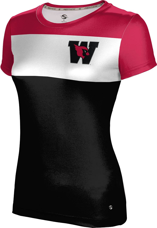 Prime ProSphere Wesleyan University College Girls Performance T-Shirt