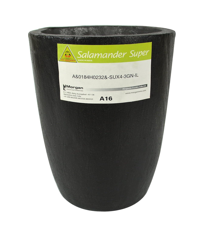 A16 - 23 Kg Salamander Super Clay Graphite Crucible for Precious Metal Melting Casting Gold Brass Silver Refining PMC Supplies CRU-0099