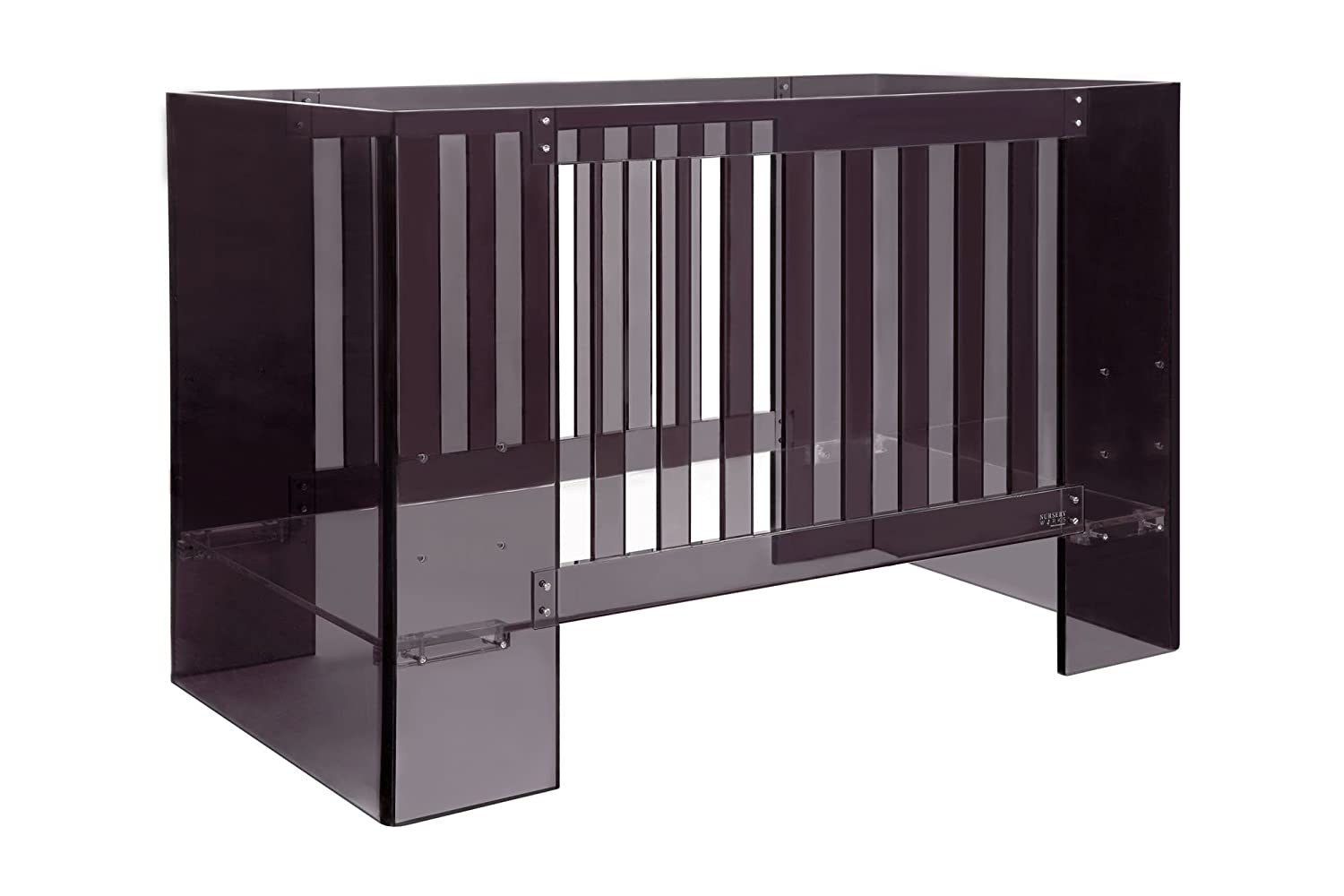 amazoncom  nursery works vetro crib shadow acrylic  baby -