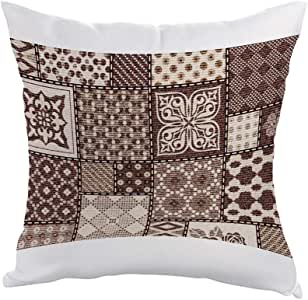 Heritage Decorative drawings Printed Pillow, Polyester fabric 40X40 cm