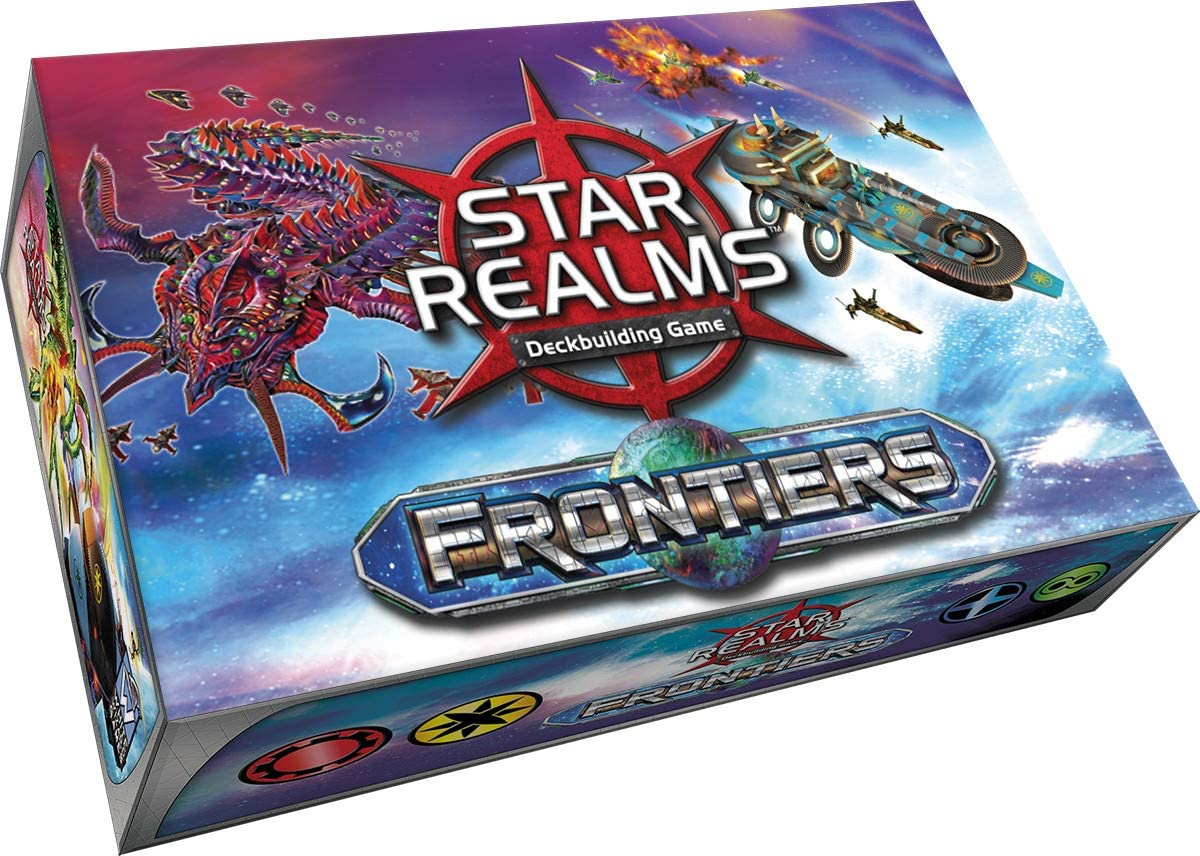White Wizard Games WWG021 Star Realms: Frontiers, Multicolor álbum de Foto y Protector: Amazon.es: Juguetes y juegos
