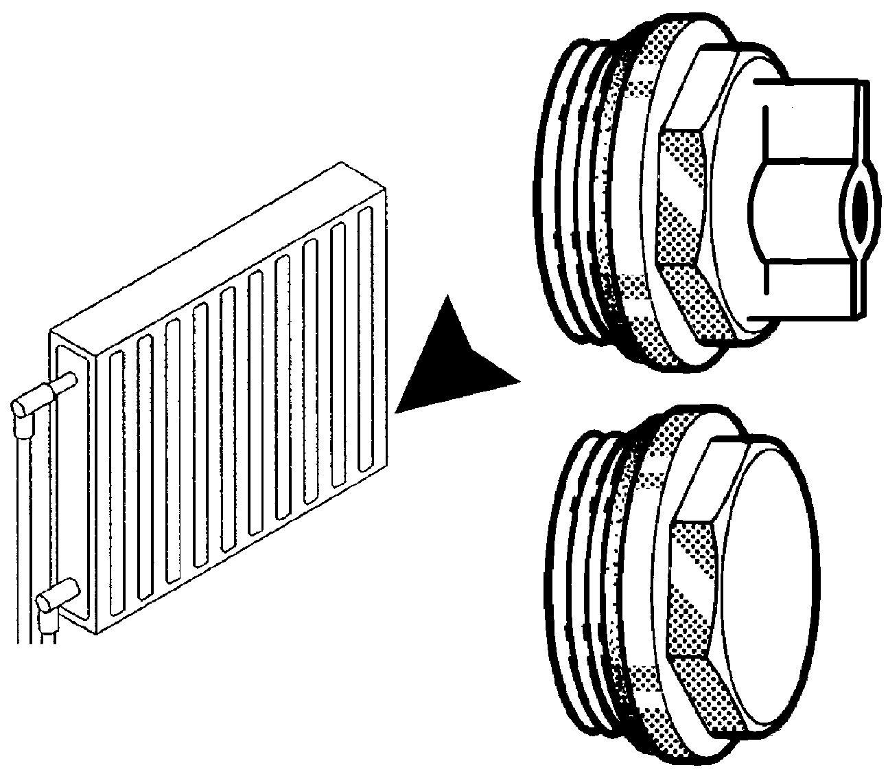 Entl/üftungsschl/üssel mit Wasserauffangbeh/älter Heizungs-Entl/üfter Heizungsschl/üssel Entl/üftungsbox f/ür Heizk/örper