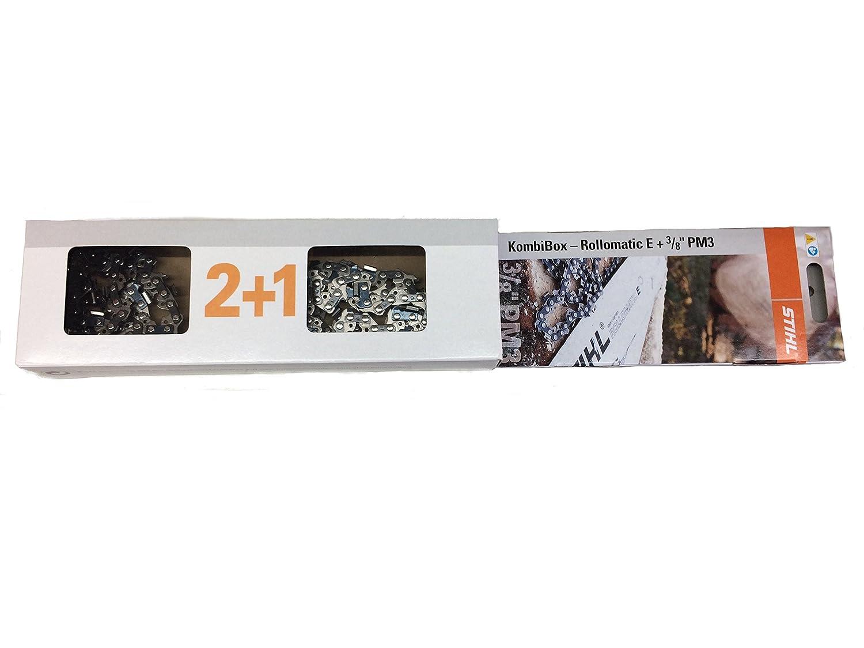 Stihl 2+1 Sägeketten / Führungsschienen-Set 3/8 x 1,3mm x 50 TG HM 35 cm