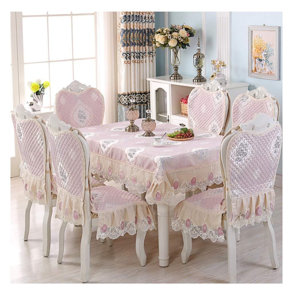 ラウンドテーブルクロス テーブルクロス椅子カバークッション - 長方形のコーヒーテーブルクロスアートテーブルクロス テーブルクロス (色 : A, サイズ さいず : 130*180cm) 130*180cm A B07RXWCZTS