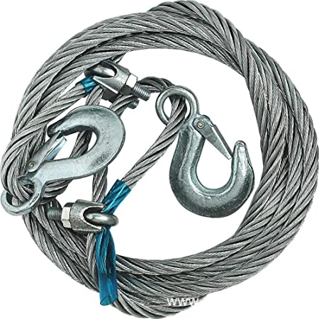 LXQ Arnés de Cable de Remolque para Coche, Cuerda de tracción, 4 m ...